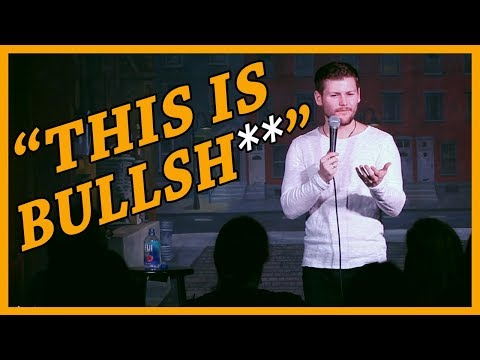 """Audience Makes Stuttering Comedian Say """"Banana"""""""