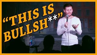 Audience Makes Stuttering Comedian Say Banana