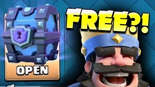 One of Beaker's Lab's most viewed videos: CLASH ROYALE: IM SO LUCKY! FREE SUPER MAGIC CHEST...LETS OPEN IT!