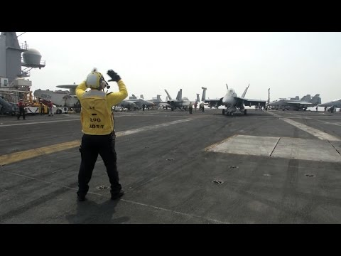 The US Supercarrier On The Frontline Against Daesh