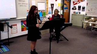 """""""Heather Hill"""" (No 1 of Two Contrasts for clarinet and piano) by Freda Swain"""