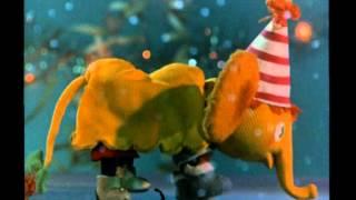 Новогодние мультфильмы - Желтый слон
