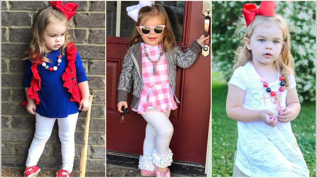 df6bfba7dc62f اجمل ملابس بنات اطفال اخر شياكة صيفي 2019 - YouTube
