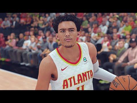 NBA 2K19 ROSTERS NETS VS HAWKS│4K 60FPS