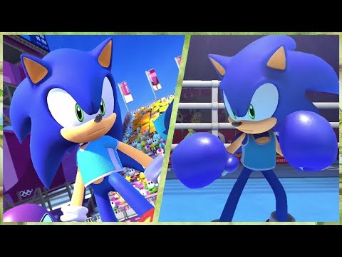 All 24 Events (Sonic Gameplay) | Mario & Sonic At The Olympic Games Tokyo 2020 (Switch)