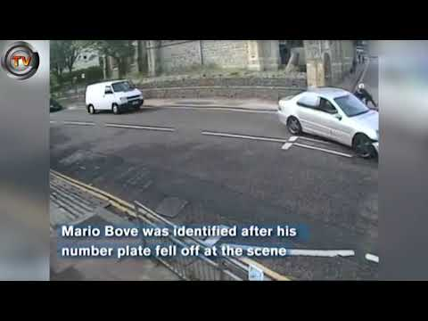Download Youtube: Dangerous driver rams motorcyclist with passenger while moving | CCTV NEWS!