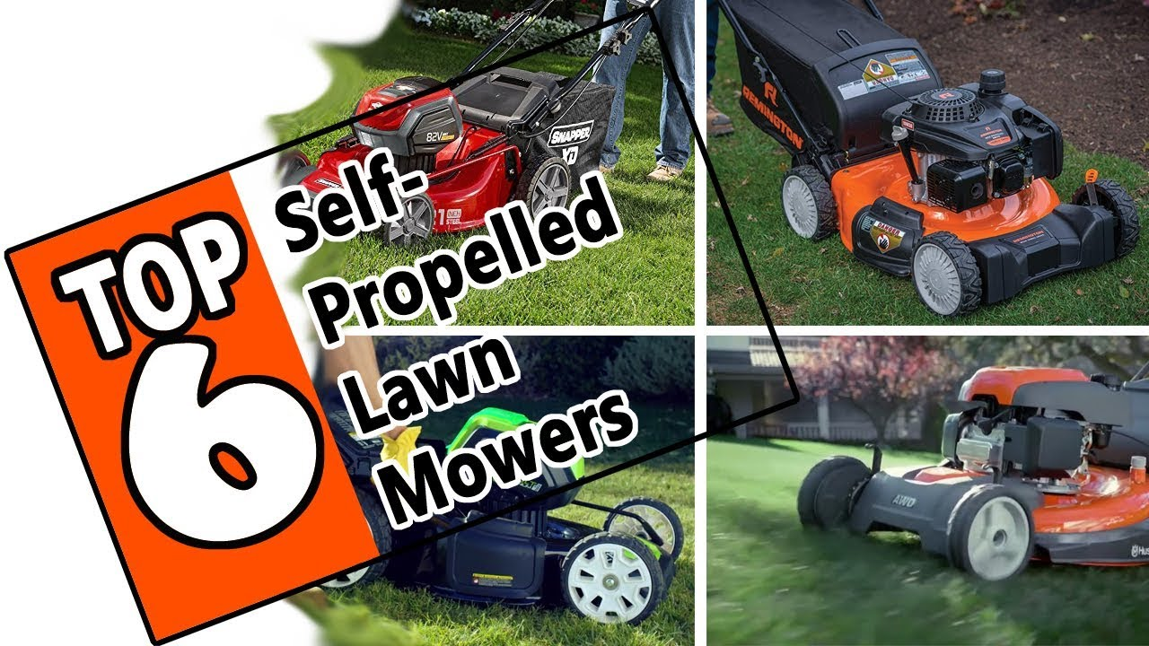 These Are The Best Self Propelled Lawn Mowers Of 2019 Top 6 Models On The Market Today Youtube