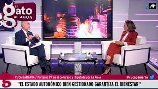 Mejores momentos entrevista Cuca Gamarra   29/09/21