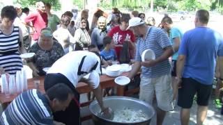 Християни и мюсюлмани в село Дъбница, с общ курбан гониха днес зла прокоба от селото