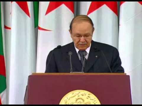 """Discours d'investiture du Président Abdelaziz Bouteflika  """" L'Algérie l'a Choisi """""""