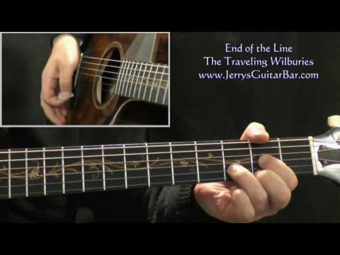 How To Play The Traveling Wilburys End of the Line (intro only)