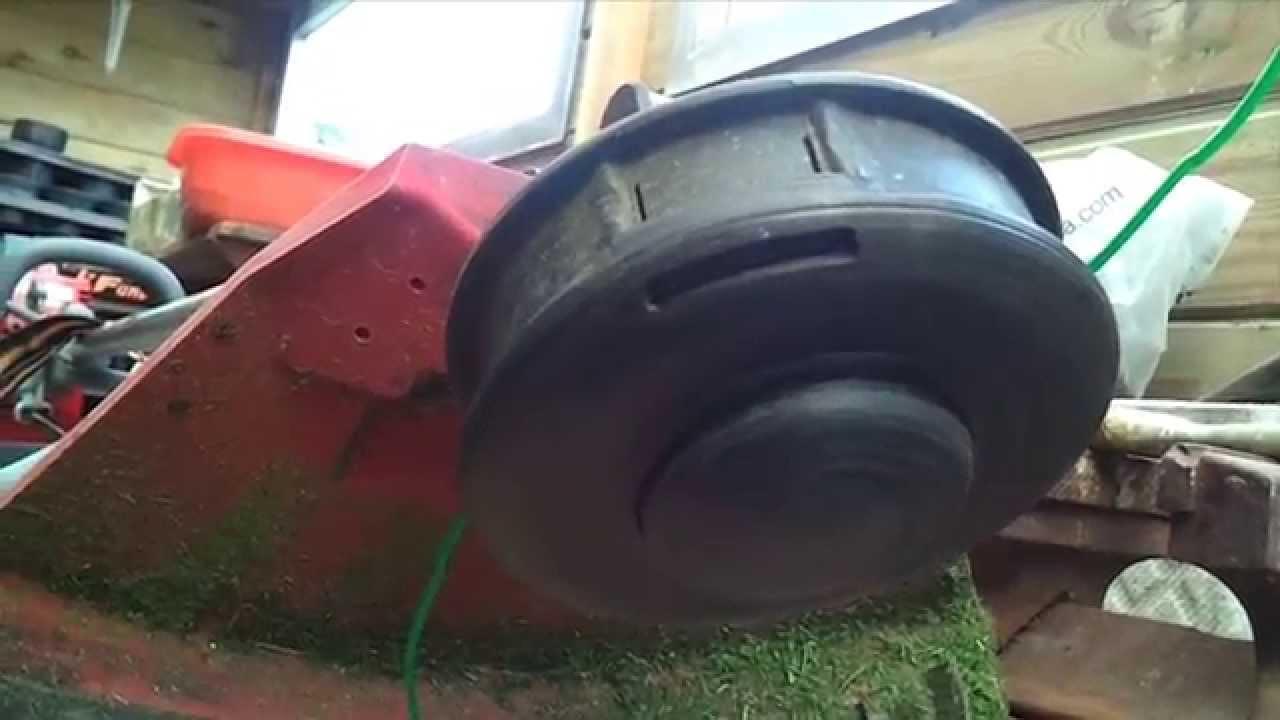 Comment remplacer le fil de coupe d 39 une d broussailleuse - Comment couper des parties d une video ...