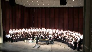 Achieved is the Glorious Work (from The Creation) - GMEA All-State 2015 Middle School Mixed Chorus