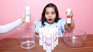 تحدي لا تختار بودرة السلايم الخاطئ !!! Don't Choose the Wrong Powder Slime Challenge