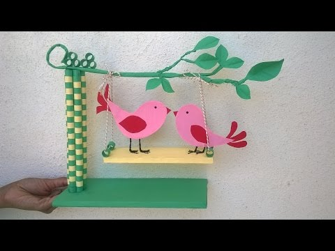 Paper Quilling Showpiece || DIY paper showpiece for room decoration