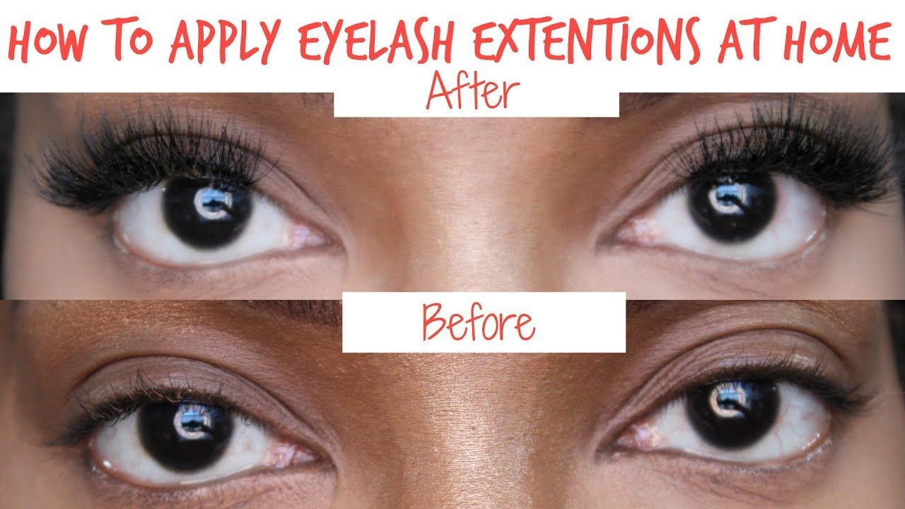 Diy How To Apply Permanent Eyelash Extensions At Home For 12
