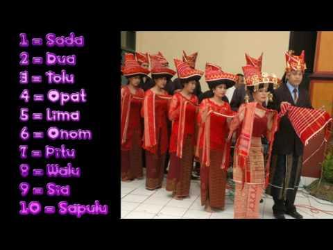 1 sampai 10 dalam berbagai bahasa daerah di Sumatera