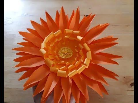 Blumen Basteln Aus Papier Papierblumen Basteln Mit Kindern Kunstblumen Pflanzen