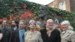 London Statue unveiling ceremony of Albania's National Hero George Kastriotis Skanderbeg