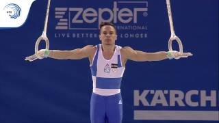 Eleftherios PETROUNIAS (GRE) - 2017 European Champion on Rings