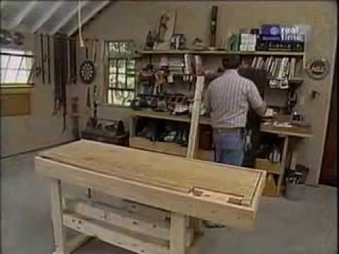 New Yankee Workshop 102 Work Bench как сделать верстак