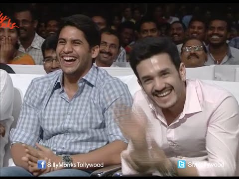 Funny Skit @ Manam Movie 50 Days Celebrations