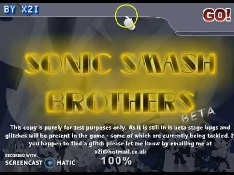How To Get All The Cheat Codes For Sonic Smash Bros
