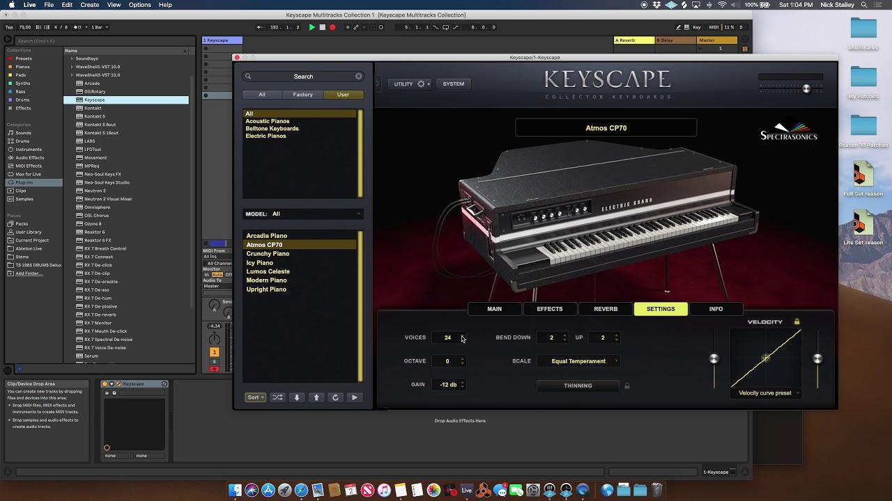 Keyscape | MultiTracks