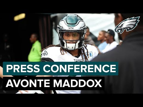CB Avonte Maddox Talks About Receiving First-Team Reps & More | Eagles Press Conference