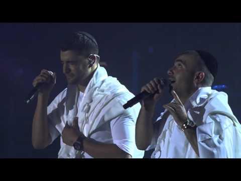 עומר אדם ומשה פרץ - מודה אני בביצוע מתוך ההופעה