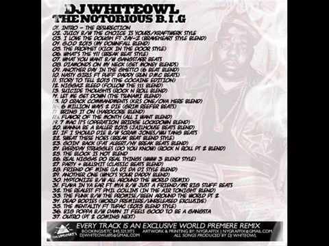 Notorious B.I.G - DJ WhiteOwl - Resurection Mixtape (Coming Oct. 26th 2014)