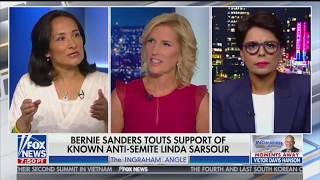 Linda Sarsour Endorses Bernie Sanders and Halts Political Progress • Ingraham Angle