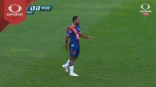 Gol de Bryan Angulo | Chivas 1 - 1 Puebla | Clausura 2019 - J15 | Televisa Deportes