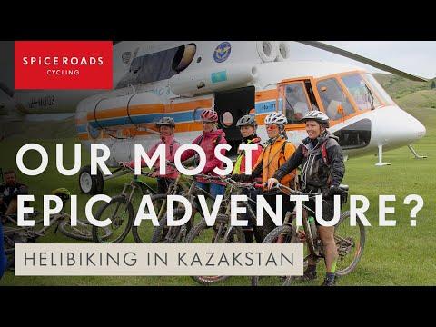 Mountain Biking Kazakhstan and Kyrgyzstan