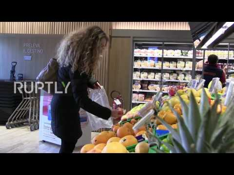 Italy: This interactive store could be the 'supermarket of the future'