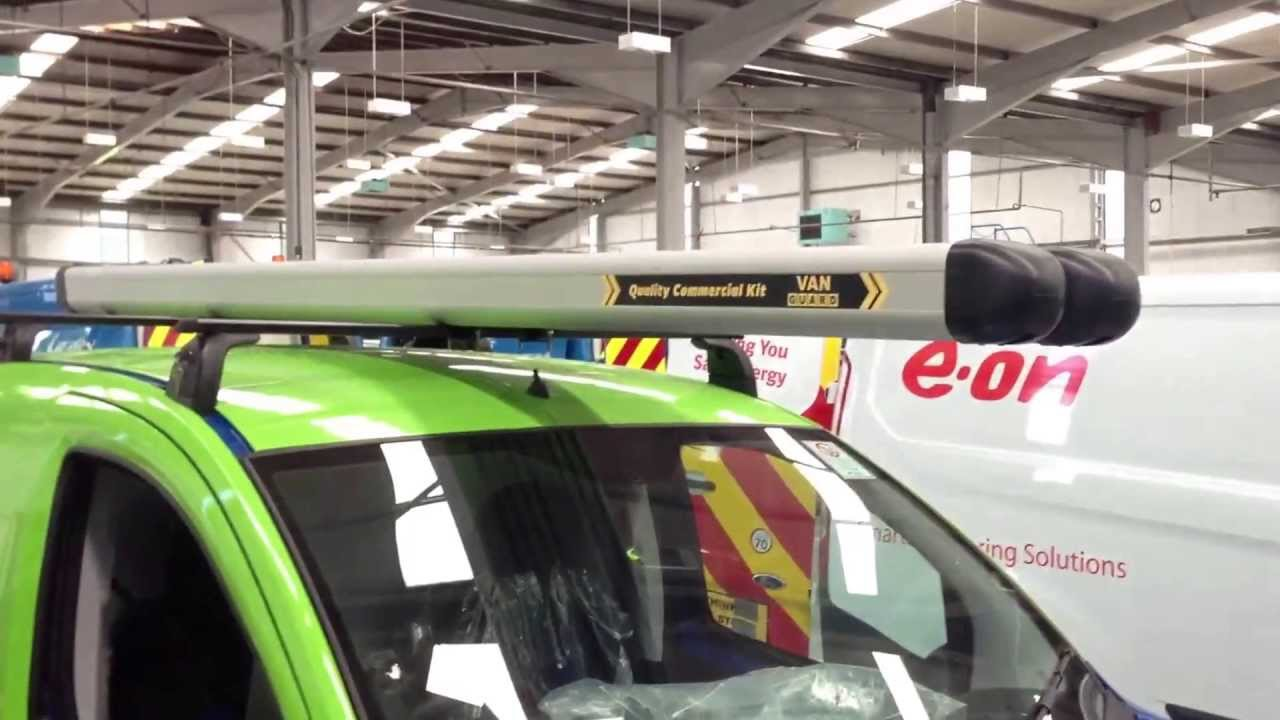 Fiat Fiorino roof rack v Van guard roof rack - YouTube
