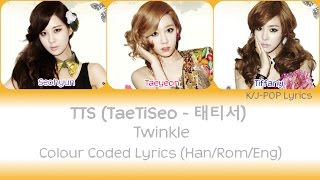 Download Mp3 Taetiseo  소녀시대-태티서  - Twinkle Colour Coded Lyrics  Han/rom/eng