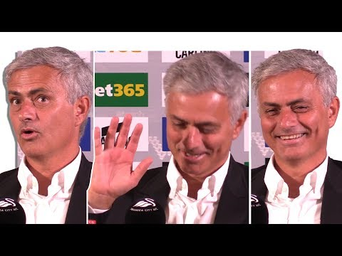 Swansea 0-4 Manchester United - Jose Mourinho Post Match Press Conference - Embargo Extras