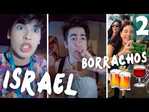 YOUTUBERS BORRACHOS EN ISRAEL!! - VLOG PARTE 2 | Alejo Igoa