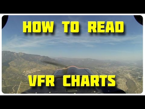 How To Read VFR Charts! | Aviation Tutorial