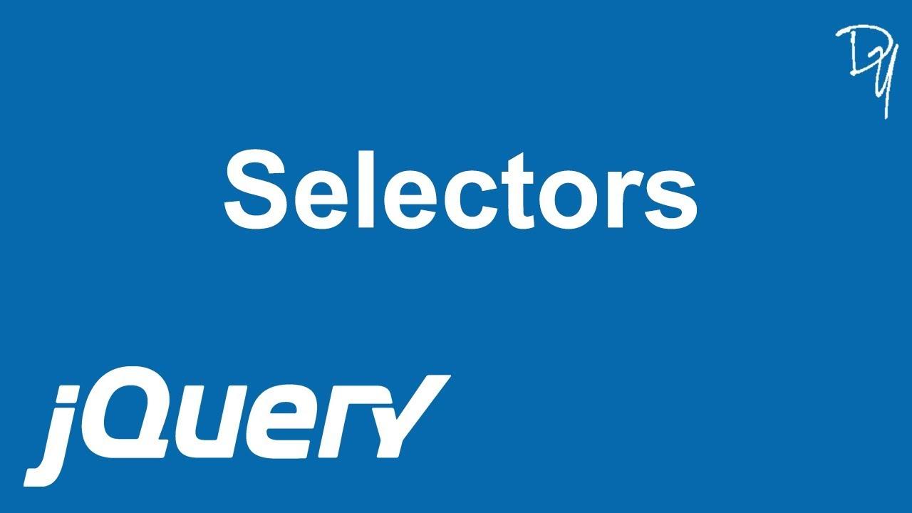 jQuery - Selectors #03 - YouTube