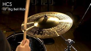 "Meinl Cymbals HCS18BBR HCS 18"" Big Bell Ride Cymbal"
