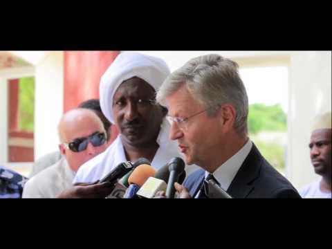 UN USG Lacroix meets  the Wali of North Darfur