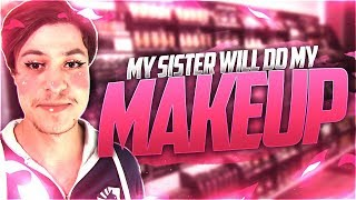 LL STYLISH | MY SISTER WILL PUT MAKEUP ON ME 😨!