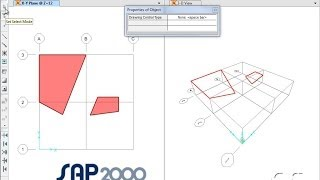 SAP2000 - 03 Draw Commands: Watch & Learn