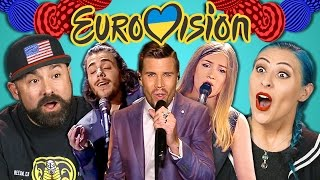 Download Video ADULTS REACT TO EUROVISION 2017 MP3 3GP MP4