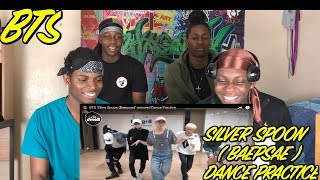 BTS 'Silver Spoon (Baepsae)' mirrored Dance Practice - REACTION