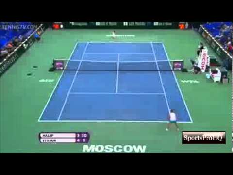 WTA Moscow Kremlin Cup 2013 ~ Final   Highlights   Simona Halep Vs Samantha Stosur