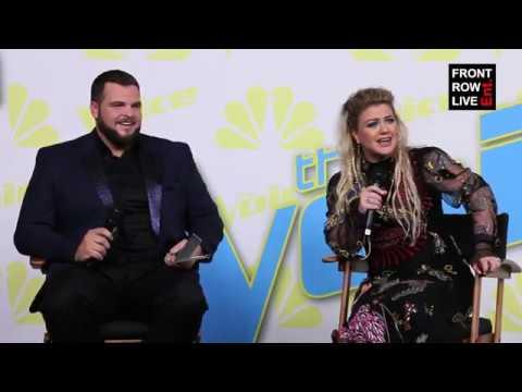 Jake Hoot & Kelly Clarkson Press Conference | The Voice Season 17 Finale