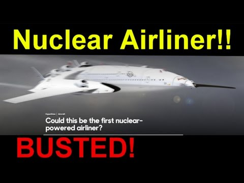 SIX ENGINED Nuclear Airliner... BUSTED!